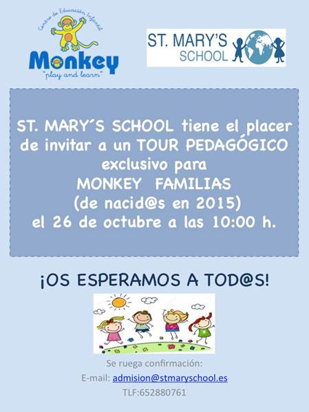 Tour pedagógico @ St. Mary´s School